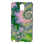 Rose Apple Green Dreams, Abstract Water Garden Samsung Galaxy Note 3 N9005 Hardshell Case