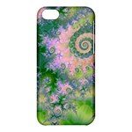 Rose Apple Green Dreams, Abstract Water Garden Apple iPhone 5C Hardshell Case