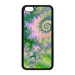 Rose Apple Green Dreams, Abstract Water Garden Apple iPhone 5C Seamless Case (Black)
