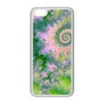 Rose Apple Green Dreams, Abstract Water Garden Apple iPhone 5C Seamless Case (White)