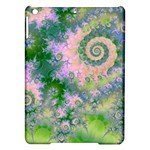 Rose Apple Green Dreams, Abstract Water Garden Apple iPad Air Hardshell Case