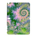 Rose Apple Green Dreams, Abstract Water Garden Samsung Galaxy Note 10.1 (P600) Hardshell Case