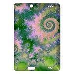Rose Apple Green Dreams, Abstract Water Garden Kindle Fire HD 7  (2nd Gen) Hardshell Case