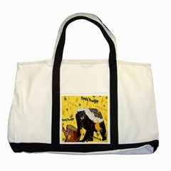 Honeybadgersnack Two Toned Tote Bag
