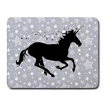 Unicorn on Starry Background Small Mouse Pad (Rectangle)