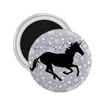 Unicorn on Starry Background 2.25  Button Magnet