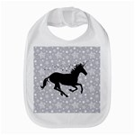 Unicorn on Starry Background Bib
