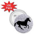 Unicorn on Starry Background 1.75  Button (100 pack)