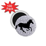 Unicorn on Starry Background 1.75  Button Magnet (100 pack)
