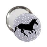 Unicorn on Starry Background Handbag Mirror (2.25 )