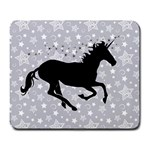 Unicorn on Starry Background Large Mouse Pad (Rectangle)