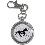Unicorn on Starry Background Key Chain Watch