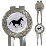 Unicorn on Starry Background Golf Pitchfork & Ball Marker