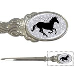 Unicorn on Starry Background Letter Opener