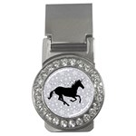 Unicorn on Starry Background Money Clip (CZ)