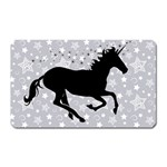 Unicorn on Starry Background Magnet (Rectangular)