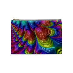 Radiant Sunday Neon Cosmetic Bag (medium) by ImpressiveMoments