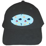 Fun Fish of the Ocean Black Baseball Cap