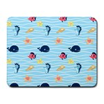 Fun Fish of the Ocean Small Mouse Pad (Rectangle)