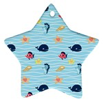 Fun Fish of the Ocean Star Ornament
