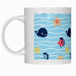 Fun Fish of the Ocean White Coffee Mug