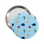 Fun Fish of the Ocean Handbag Mirror (2.25 )