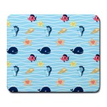 Fun Fish of the Ocean Large Mouse Pad (Rectangle)