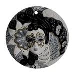Venetian Mask Round Ornament