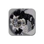 Venetian Mask Drink Coasters 4 Pack (Square)