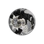 Venetian Mask Magnet 3  (Round)