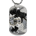 Venetian Mask Dog Tag (One Sided)