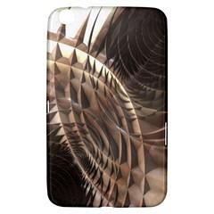 Copper Metallic Samsung Galaxy Tab 3 (8 ) T3100 Hardshell Case  by CrypticFragmentsDesign
