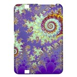 Sea Shell Spiral, Abstract Violet Cyan Stars Kindle Fire HD 8.9  Hardshell Case