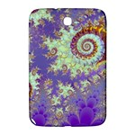 Sea Shell Spiral, Abstract Violet Cyan Stars Samsung Galaxy Note 8.0 N5100 Hardshell Case
