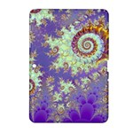 Sea Shell Spiral, Abstract Violet Cyan Stars Samsung Galaxy Tab 2 (10.1 ) P5100 Hardshell Case