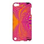Magenta Boardwalk Carnival, Abstract Ocean Shimmer Apple iPod Touch 5 Hardshell Case