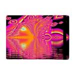 Magenta Boardwalk Carnival, Abstract Ocean Shimmer Apple iPad Mini Flip Case
