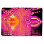 Magenta Boardwalk Carnival, Abstract Ocean Shimmer Samsung Galaxy Tab 10.1  P7500 Flip Case