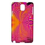 Magenta Boardwalk Carnival, Abstract Ocean Shimmer Samsung Galaxy Note 3 N9005 Hardshell Case