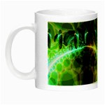 Dawn Of Time, Abstract Lime & Gold Emerge Glow in the Dark Mug