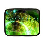 Dawn Of Time, Abstract Lime & Gold Emerge Netbook Sleeve (Small)