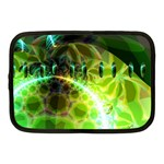 Dawn Of Time, Abstract Lime & Gold Emerge Netbook Sleeve (Medium)