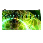 Dawn Of Time, Abstract Lime & Gold Emerge Pencil Case