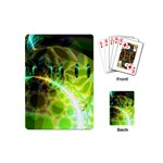 Dawn Of Time, Abstract Lime & Gold Emerge Playing Cards (Mini)
