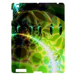 Dawn Of Time, Abstract Lime & Gold Emerge Apple iPad 3/4 Hardshell Case