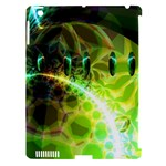 Dawn Of Time, Abstract Lime & Gold Emerge Apple iPad 3/4 Hardshell Case (Compatible with Smart Cover)