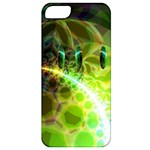Dawn Of Time, Abstract Lime & Gold Emerge Apple iPhone 5 Classic Hardshell Case