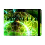 Dawn Of Time, Abstract Lime & Gold Emerge Apple iPad Mini Flip Case