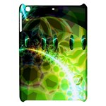 Dawn Of Time, Abstract Lime & Gold Emerge Apple iPad Mini Hardshell Case
