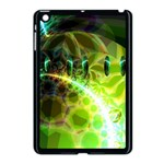 Dawn Of Time, Abstract Lime & Gold Emerge Apple iPad Mini Case (Black)